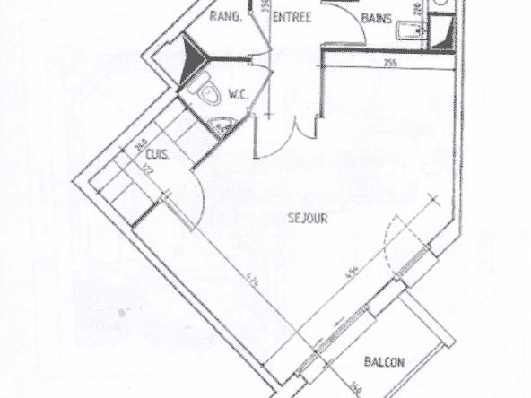 Plan 2ème étage Levallois