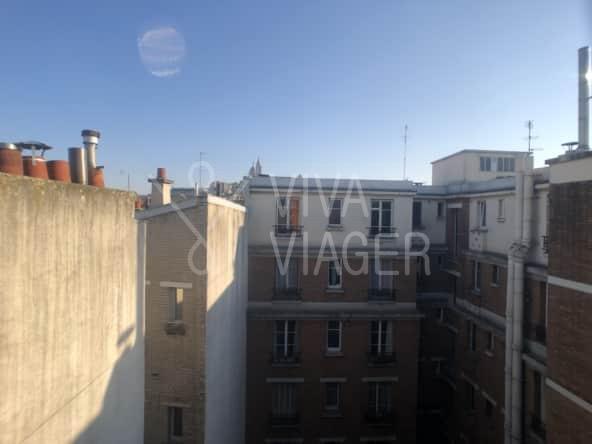 Studio 32 m² - viager occupé Paris 18