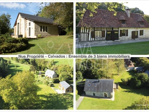 Maison viager nue propriété à Cambremer (Calvados)