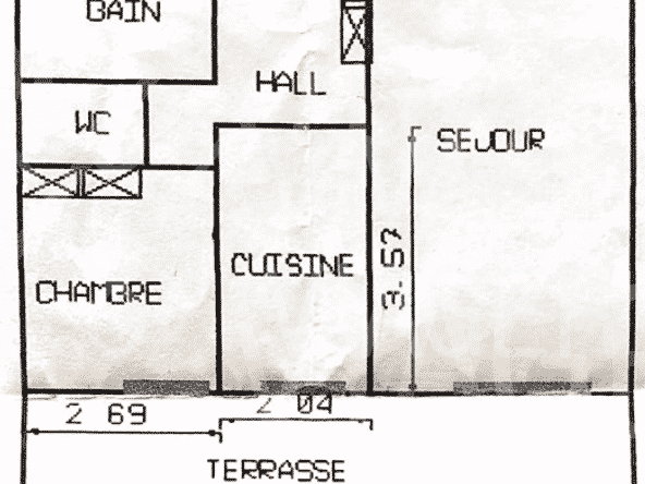 Apt 50m² – Viager Occupé Menton