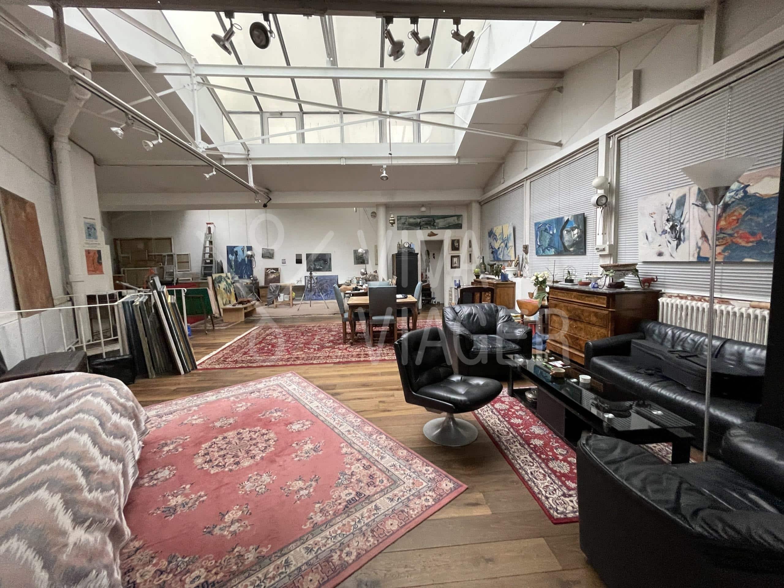 Atelier d'Artiste/Loft – Viager Occupé – Paris 20ème