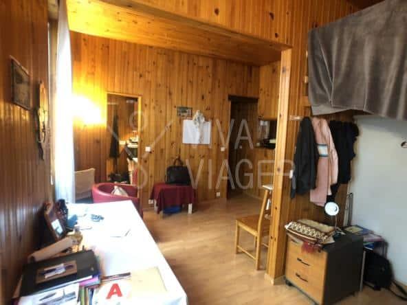 Studio 22 m² – Viager Libre Paris 15