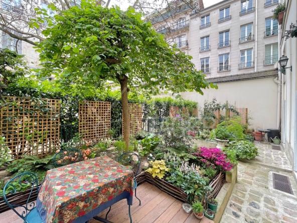 Appartement 80m² avec jardin – Viager Occupé Paris 4ème