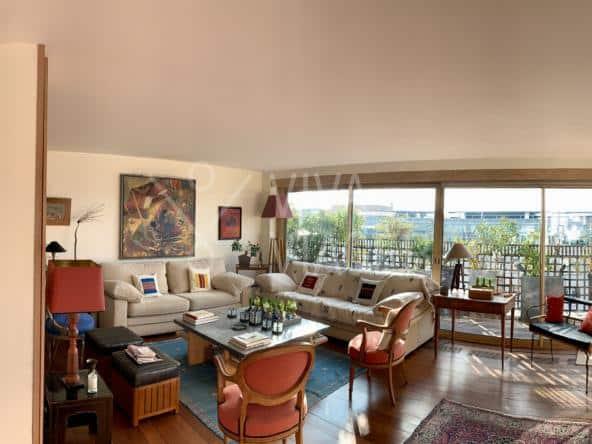 Apt de 3P de 89 m² – Nue-Propriété Paris 7 séjour