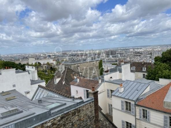 Studio de 30m² – Viager libre – Paris 18ᵉ